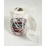 Royalwood Ltd. - Crawford Threads - Ply Waxed Linen Thread For Bookbinding - White