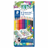 Staedtler - Noris Club - Coloured Pencils - 12 Pieces