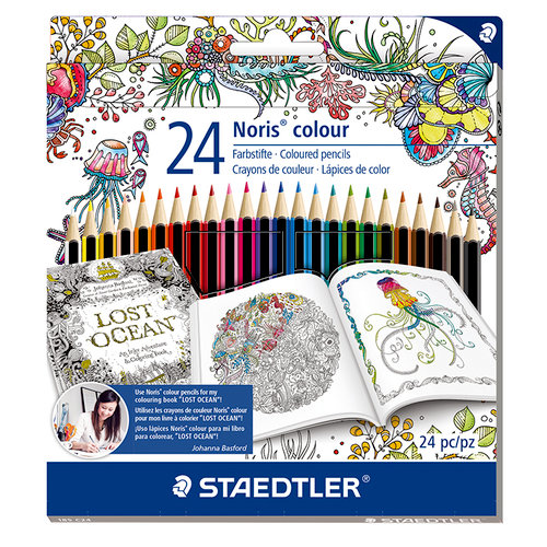 Staedtler - Noris Club - Coloured Pencils - 24 Pieces