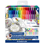 Staedtler - Triplus Fineliner - 36 Pieces