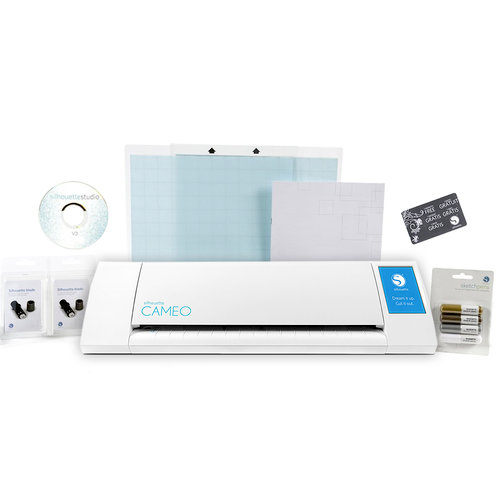 Silhouette America - Cameo Version 2 - Electronic Cutting System - Starter Bundle