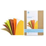 Silhouette America - 8.5 x 11 Self Adhesive Cardstock Pack - Autumn