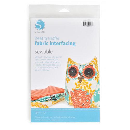 Silhouette America - Heat Transfer Fabric Interfacing - Sewable