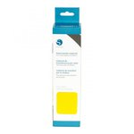 Silhouette America - Cameo - Electronic Cutting System - Flocked Heat Transfer Material - 9 Inch - Yellow