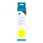 Silhouette America - Cameo - Electronic Cutting System - Smooth Heat Transfer Material - 9 Inch - Neon Yellow