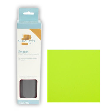 Silhouette America - Smooth Heat Transfer Material - Lime Green