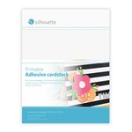 Silhouette America - Cameo - Electronic Cutting System - Printable Adhesive Cardstock