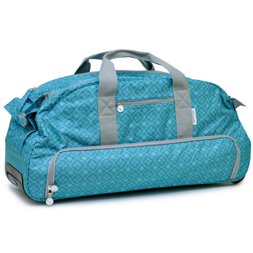 Silhouette America - Cameo - Electronic Cutting System - Rolling Tote - Teal