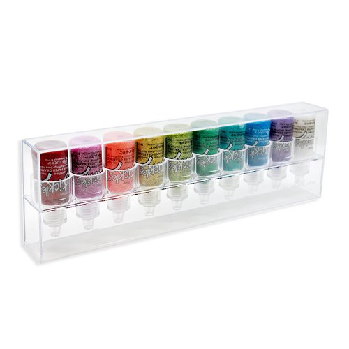 Scrapbook.com - The ColorCase - Stackable Storage for .5oz Bottles