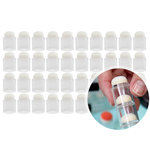 Clear Stackable Sponge Daubers - 40 Pack