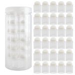 Round Dauber Storage Container with 30 Clear Stackable Daubers Included
