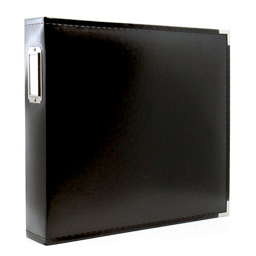 Scrapbook.com - 12 x 12 Three Ring Album - Black