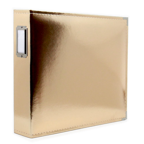 12 x 12 Three Ring Album - Gold