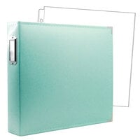 Scrapbook.com - 12 x 12 Three Ring Album - Mint with 10 Page Protectors