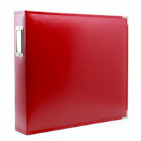 12 x 12 Three Ring Album - Red