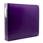12 x 12 Three Ring Album - Purple