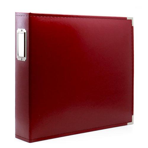 12 x 12 Three Ring Album - Deep Red
