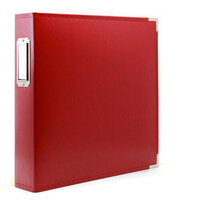 Scrapbook.com - 8.5 x 11 Three Ring Album - Red