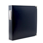 8.5 x 11 Three Ring Album - Navy