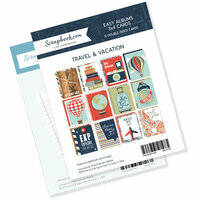 Scrapbook.com - 3 x 4 - Journaling and Themed Cards for Easy Albums - Travel and Vacation Bundle