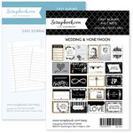 4 x 6 - Journaling and Themed Cards for Easy Albums - Wedding and Honeymoon Bundle