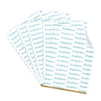 Scrapbook.com - Clear Double Sided Adhesive Sheets 6 x 8.5 5 sheets