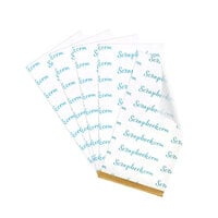 Scrapbook.com - Clear Double Sided Adhesive Sheets - 2.5 x 4.75 - 5 Sheets
