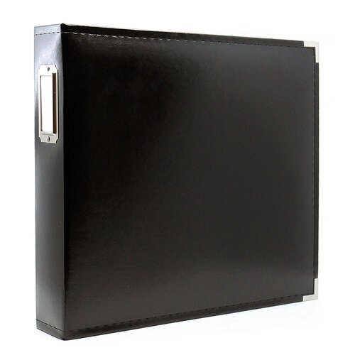 Scrapbook.com - 12x12 Three Ring Album - Black