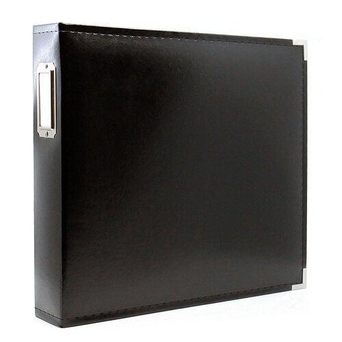 Scrapbook.com - 12x12 Three Ring Album - Black