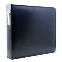Scrapbook.com - 12x12 Three Ring Album - Navy