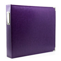 Scrapbook.com - 12x12 Three Ring Album - Purple