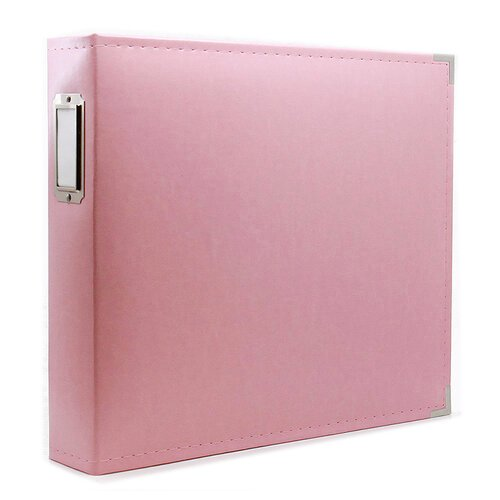 Scrapbook.com - 12x12 Three Ring Album - Pink