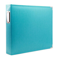 Scrapbook.com - 12x12 Three Ring Album - Aqua
