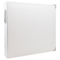 Scrapbook.com - 12x12 Three Ring Album - White