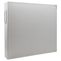 Scrapbook.com - 12x12 Three Ring Album - Light Gray