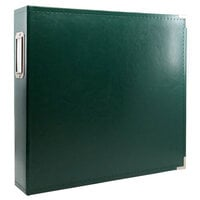Scrapbook.com - 12x12 Three Ring Album - Forest Green