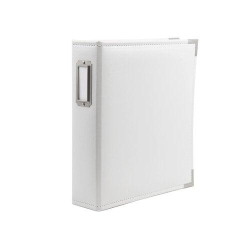Scrapbook.com - 6x8 Two Ring Album - White