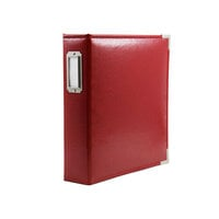 Scrapbook.com - 6x8 Two Ring Album - Red