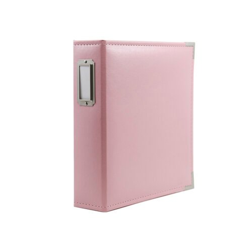 Scrapbook.com - 6x8 Two Ring Album - Pink