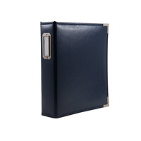 Scrapbook.com - 6x8 Two Ring Album - Navy