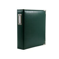 Scrapbook.com - 6x8 Two Ring Album - Forest Green
