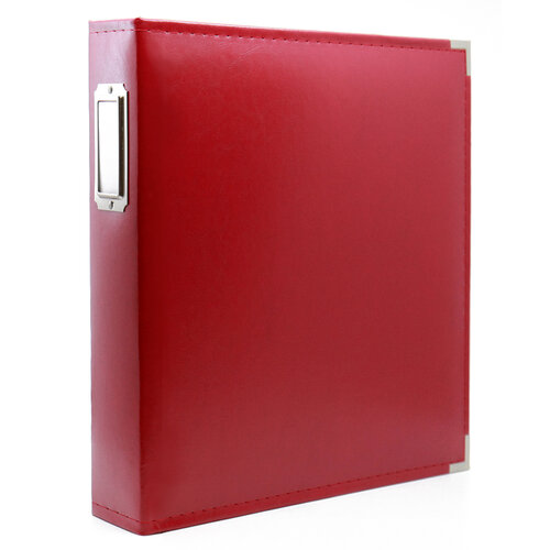 Scrapbook.com - 9x12 Three Ring Album - Red