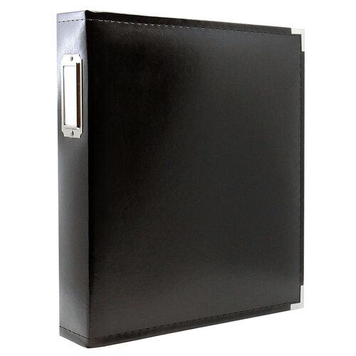 Scrapbook.com - 9x12 Three Ring Album - Black