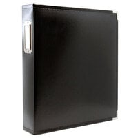 Scrapbook.com - 9x12 Three Ring Album - Black
