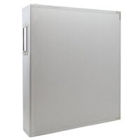 Scrapbook.com - 9x12 Three Ring Album - Light Gray
