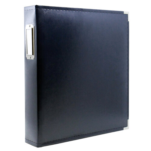 Scrapbook.com - 9x12 Three Ring Album - Navy
