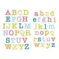 Scrapbook.com - Decorative Die Set - Typewriter Alphabet - Upper and Lower