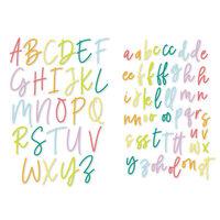 Scrapbook.com - Decorative Die Set - Uptown Alphabet - Upper and Lower