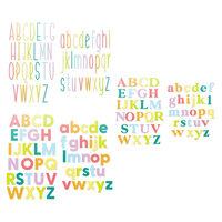 Scrapbook.com - Decorative Die Set - Alphabet Sets - Mega Bundle