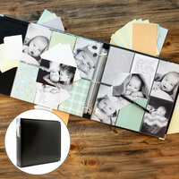Scrapbook.com - Baby Boy Easy Albums Kit with Black Album